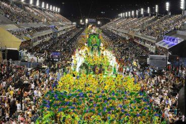 The Sambadrome Marquês de Sapucaí